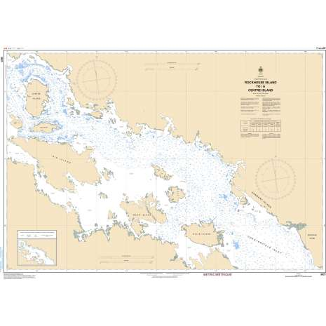 Central and Arctic Region Charts :CHS Chart 5621: Rockhouse Island to/à Centre Island