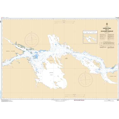 Central and Arctic Region Charts :CHS Chart 5624: Terror Point to/au Schooner Harbour