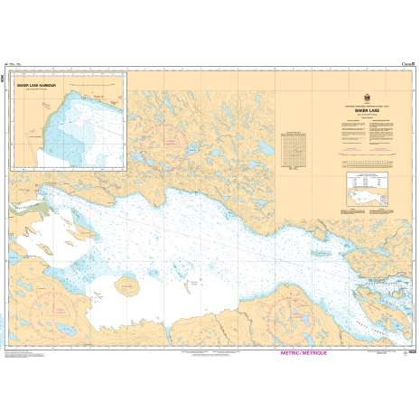 Central and Arctic Region Charts :CHS Chart 5626: Baker Lake