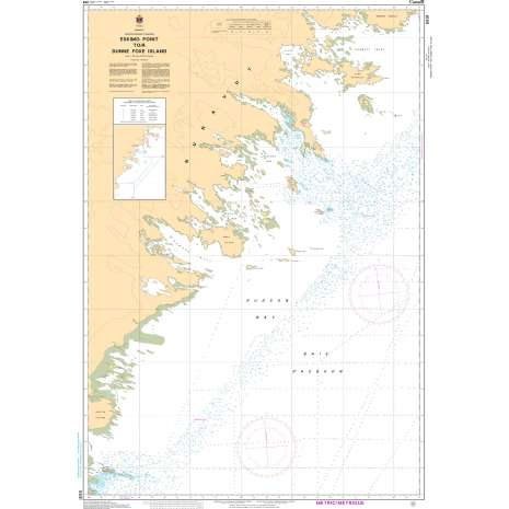Central and Arctic Region Charts :CHS Chart 5631: Eskimo Point to Dunne Foxe Island