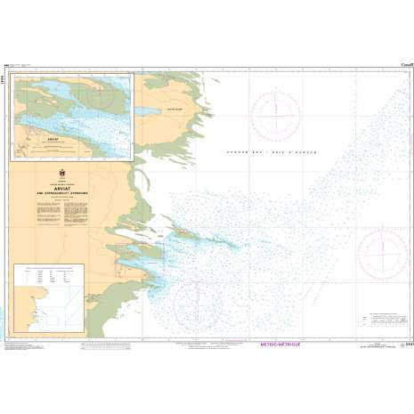 Central and Arctic Region Charts :CHS Chart 5641: Arviat and Approaches / et Approches