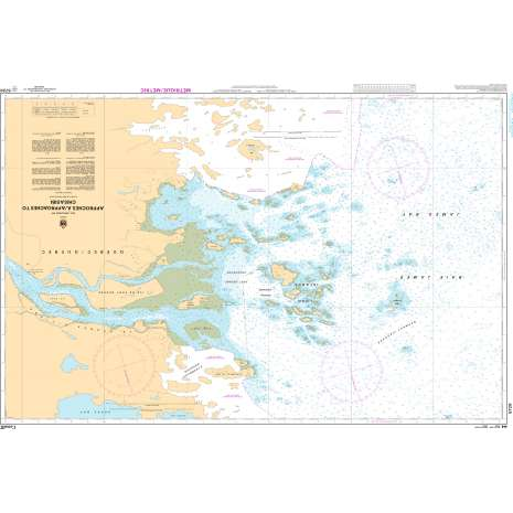Central and Arctic Region Charts :CHS Chart 5720: Approches à/Approaches to Chisasibi