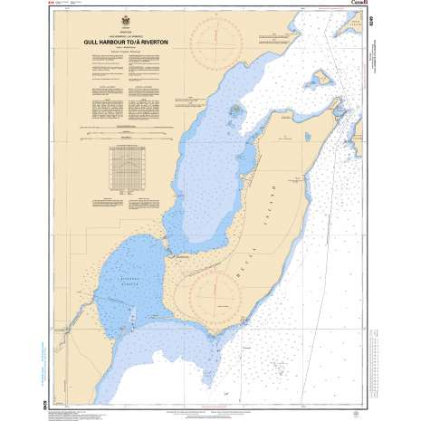 Central and Arctic Region Charts :CHS Chart 6249: Gull Harbour to/à Riverton
