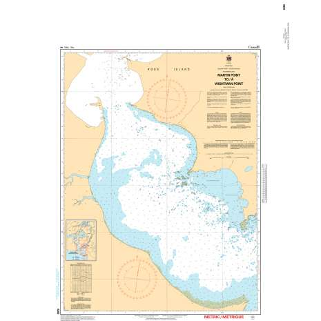 Central and Arctic Region Charts :CHS Chart 6260: Martin Point to/à Wightman Point