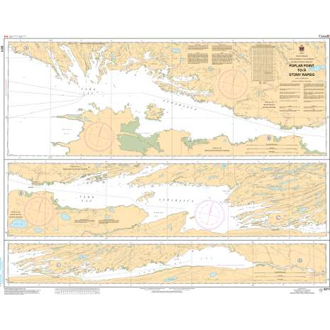 Central and Arctic Region Charts :CHS Chart 6311: Poplar Point to/à Stony Rapids