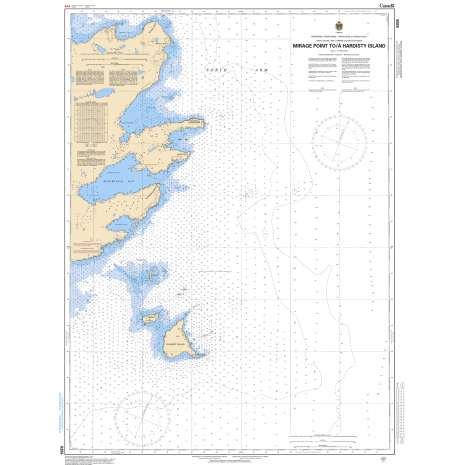 Central and Arctic Region Charts :CHS Chart 6355: Mirage Point to/à Hardisty Island