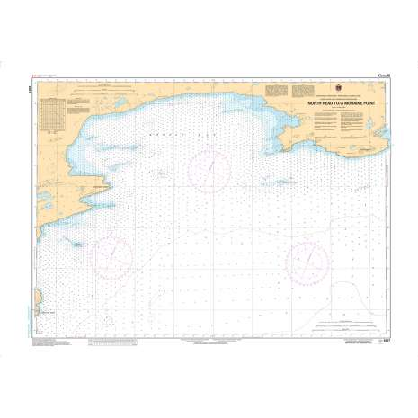 Central and Arctic Region Charts :CHS Chart 6357: North Head to/à Moraine Point