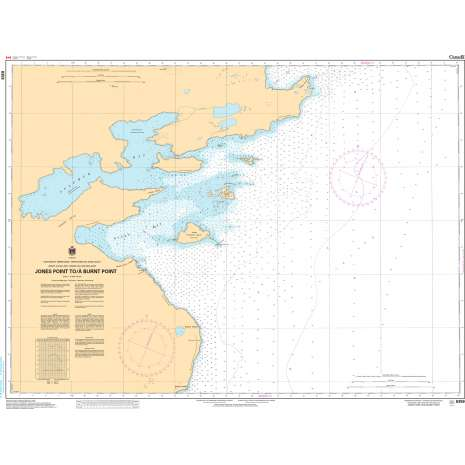 Central and Arctic Region Charts :CHS Chart 6359: Jones Point to/à Burnt Point