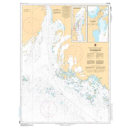 Central and Arctic Region Charts :CHS Chart 6369: Yellowknife Bay