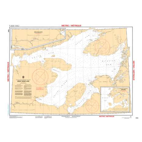 Central and Arctic Region Charts :CHS Chart 6390: Great Bear Lake