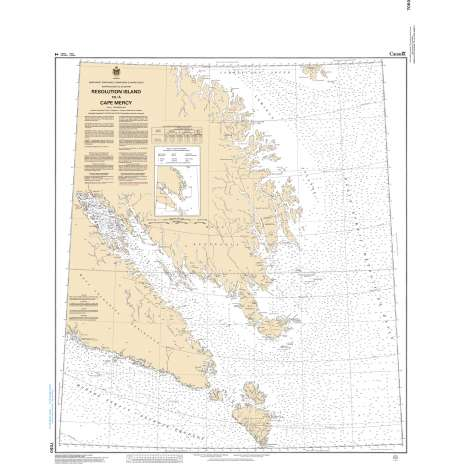 Central and Arctic Region Charts :CHS Chart 7050: Resolution Island to/à Cape Mercy