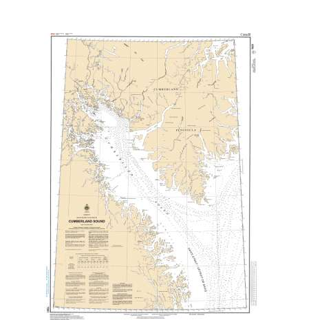 Central and Arctic Region Charts :CHS Chart 7051: Cumberland Sound