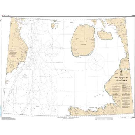 Central and Arctic Region Charts :CHS Chart 7066: Cape Dorchester to Spicer Islands