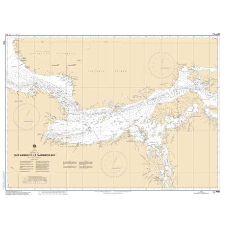 Central and Arctic Region Charts :CHS Chart 7082: Cape Baring to/à Cambridge Bay