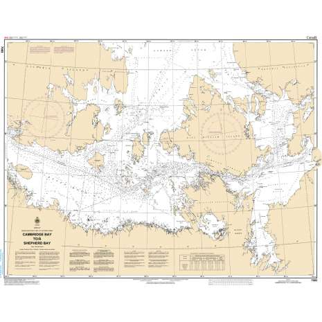 Central and Arctic Region Charts :CHS Chart 7083: Cambridge Bay to Shepherd Bay