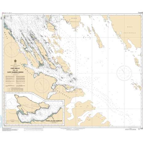 Central and Arctic Region Charts :CHS Chart 7121: Cape Mills to/à Cape Rammelsberg