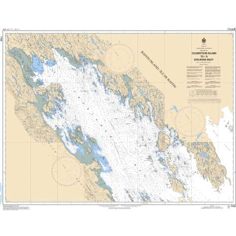 Central and Arctic Region Charts :CHS Chart 7122: Culbertson Island to/à Koojesse Inlet