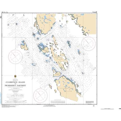 Central and Arctic Region Charts :CHS Chart 7126: Culbertson Island to Frobisher's Farthest