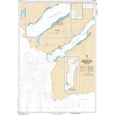 Central and Arctic Region Charts :CHS Chart 7150: Pangnirtung