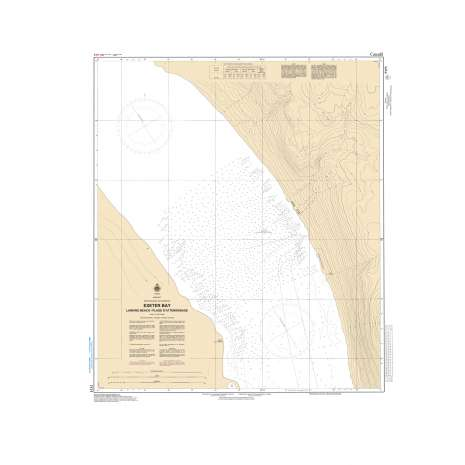 Central and Arctic Region Charts :CHS Chart 7171: Exeter Bay Landing Beach