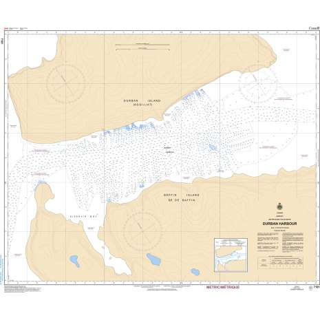 Central and Arctic Region Charts :CHS Chart 7181: Durban Harbour