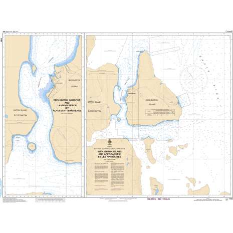 Central and Arctic Region Charts :CHS Chart 7184: Broughton Island and Approaches