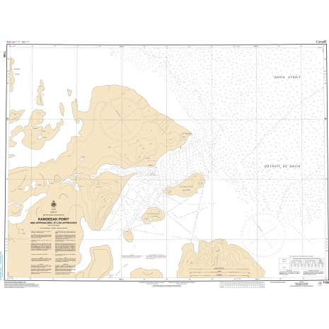 Central and Arctic Region Charts :CHS Chart 7185: Kangeeak Point and Approaches