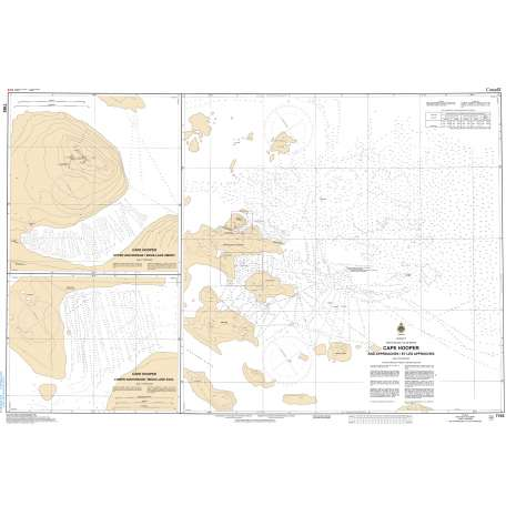 Central and Arctic Region Charts :CHS Chart 7193: Cape Hooper and Approaches