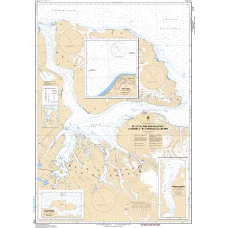Central and Arctic Region Charts :CHS Chart 7212: Bylot Island and Adjacent Channels