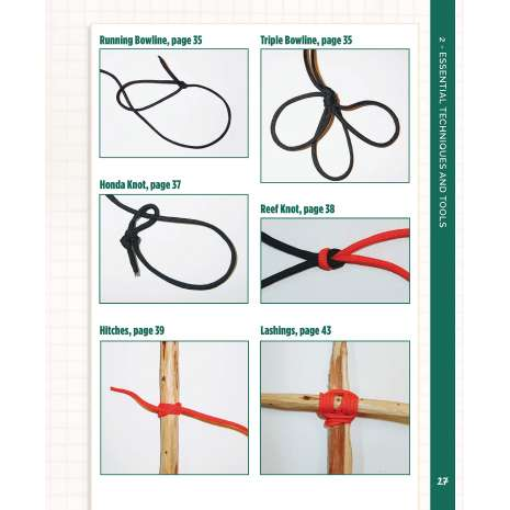 Outdoor Knots :Paracord Projects For Camping and Outdoor Survival: Practical and Essential Uses for the Ultimate Tool in Your Pack