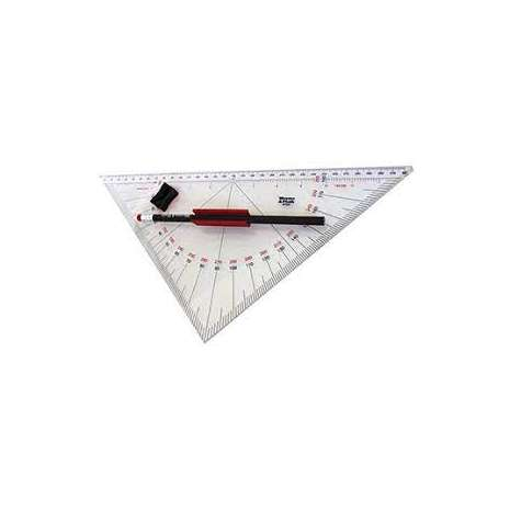 Navigation Tools :Professional Protractor Triangle #104