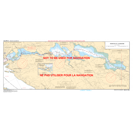 Central and Arctic Region Charts :CHS Chart 1513: Smith Falls to/à Kingston including/y compris Tay River to/à Perth