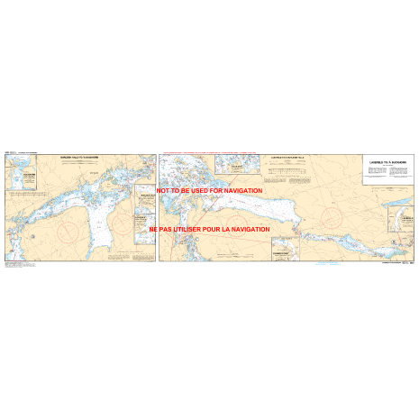 Central and Arctic Region Charts :CHS Chart 2023: Peterborough to/à Buckhorn including/y compris Stony Lake