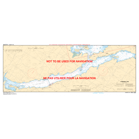 Central and Arctic Region Charts :CHS Chart 2024: Buckhorn to/à Bobcaygeon including/y compris Chemong Lake