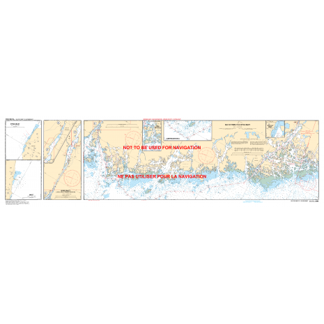 Central and Arctic Region Charts :CHS Chart 2203: Carling Rock to/à Byng Inlet