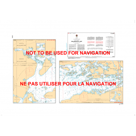 Central and Arctic Region Charts :CHS Chart 2206: McGregor Bay