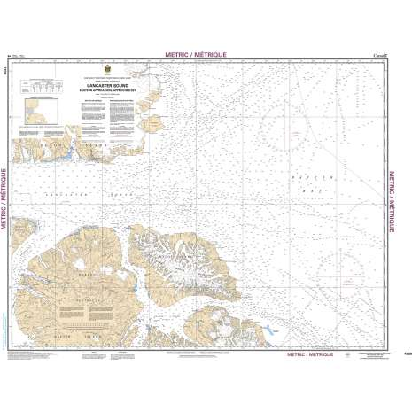 Central and Arctic Region Charts :CHS Chart 7220: Lancaster Sound, Eastern Approaches/Approches Est