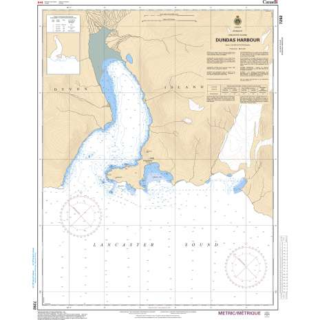 Central and Arctic Region Charts :CHS Chart 7292: Dundas Harbour