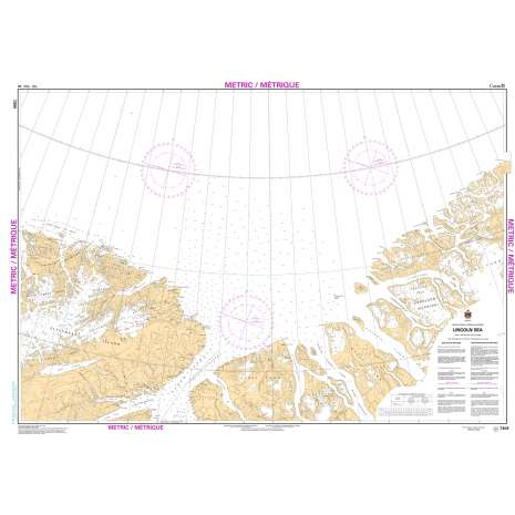 Central and Arctic Region Charts :CHS Chart 7304: Lincoln Sea