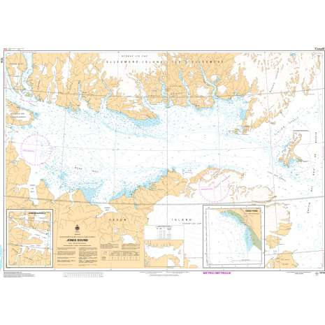 Central and Arctic Region Charts :CHS Chart 7310: Jones Sound