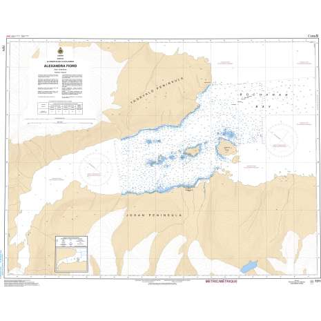 Central and Arctic Region Charts :CHS Chart 7371: Alexandra Fiord