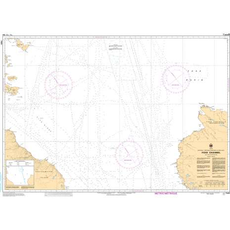 Central and Arctic Region Charts :CHS Chart 7481: Foxe Channel