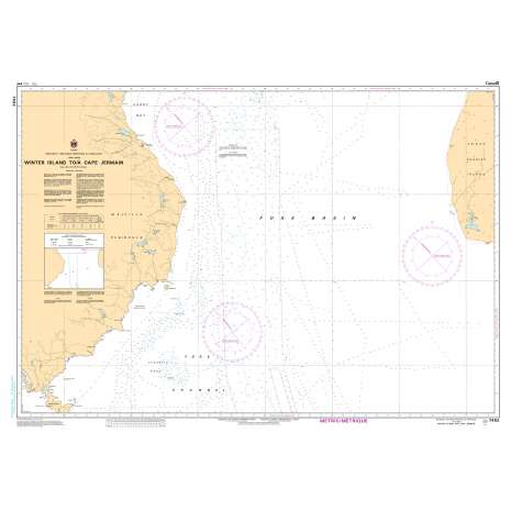 Central and Arctic Region Charts :CHS Chart 7482: Winter Island to/à Cape Jermain