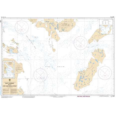 Central and Arctic Region Charts :CHS Chart 7486: Navy Channel to/à Fury and Hecla Strait