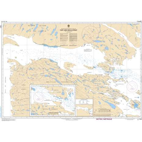 Central and Arctic Region Charts :CHS Chart 7487: Fury and Hecla Strait