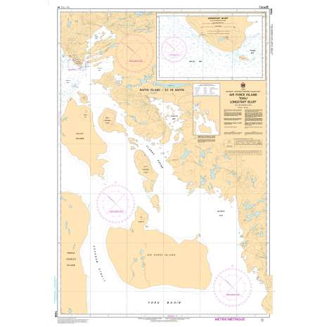 Central and Arctic Region Charts :CHS Chart 7488: Air Force Island to/au Longstaff Bluff