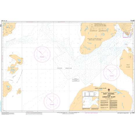Central and Arctic Region Charts :CHS Chart 7489: Navy Channel to/à Longstaff Bluff
