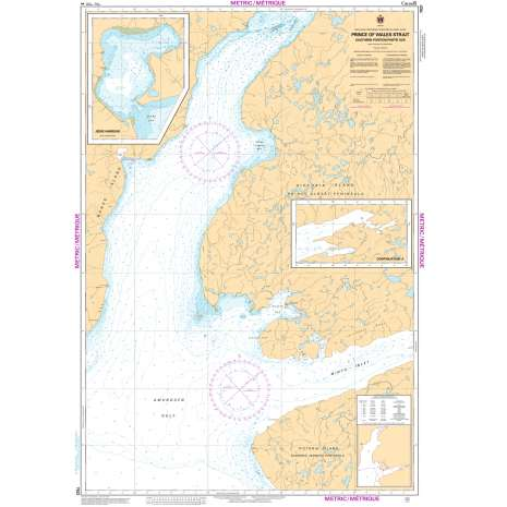 Central and Arctic Region Charts :CHS Chart 7521: Prince of Wales Strait, Southern Portion/ Partie Sud