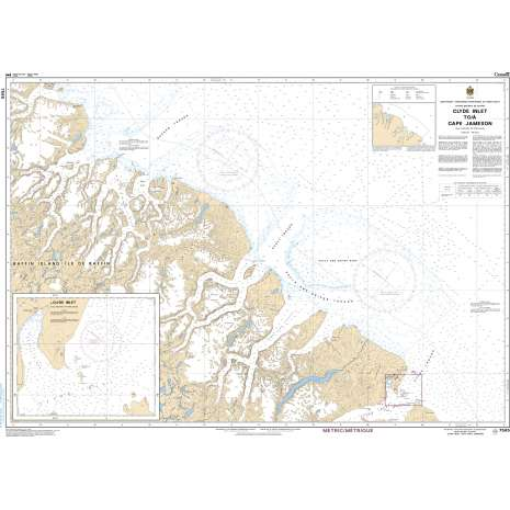 Central and Arctic Region Charts :CHS Chart 7565: Clyde Inlet to/à Cape Jameson