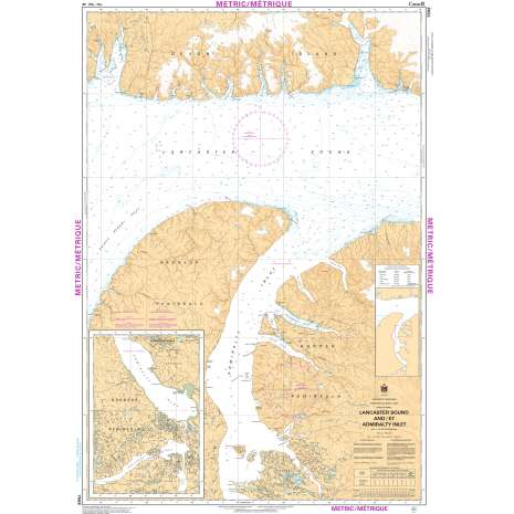 Central and Arctic Region Charts :CHS Chart 7568: Lancaster Sound and/et Admiralty Inlet